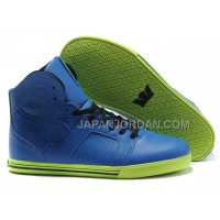 送料無料 Supra Pilot NS High Mens Blue Green