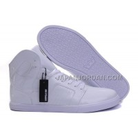送料無料 Supra Pilot NS High Mens White
