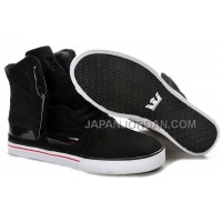 送料無料 Supra Skytop II Mens Black White