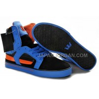 送料無料 Supra Skytop II Mens Blue Black Orange