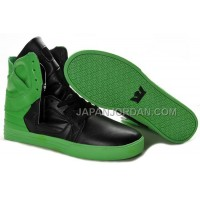 送料無料 Supra Skytop II Mens Green Black