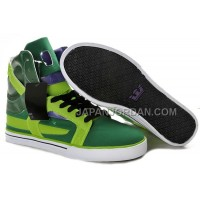 送料無料 Supra Skytop II Mens Green White