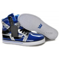 送料無料 Supra Skytop II Mens Light Blue Silver