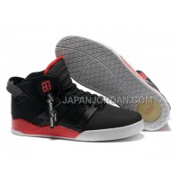 本物の Supra Skytop III Mens Black Red White