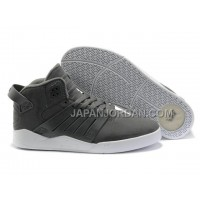 本物の Supra Skytop III Mens Gray White