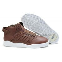 本物の Supra Skytop III Womens Brown White