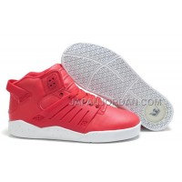 本物の Supra Skytop III Womens Light Red White