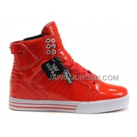 格安特別 Supra Skytop Womens Red White