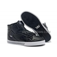 格安特別 Supra Vaider High Mens Skate Black Dark