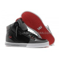 格安特別 Supra Vaider High New Mens Skate Gray Black Red