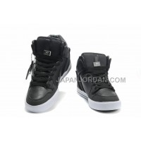 格安特別 Supra Vaider High Top Sporty Mens Skate Carbon Black White