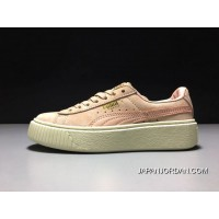 Puma X Rihanna THE CREEPER Pink/White Women Sneaker 363663-09 Lastest
