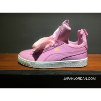 Puma X Fenty The Creeper Butterfly Womens Pink White Free Shipping
