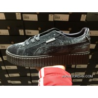 Rihanna X PUMA Creeper Velvet Pack Grey Super Deals