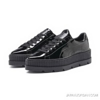 FENTY WOMENS POINTY CREEPER PATENT Puma Black Authentic