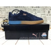Puma X Pink Dolphin Suede Capsule Collection  Black Blue Women Men