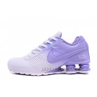 Women NIKE SHOX DELIVER White Purple 809 2016 In Stock Cheap To Buy