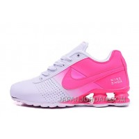 Women Shox Deliver Pink White Top Deals