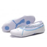 格安特別 Womens Puma 5 On Behalf Sandals White Blue