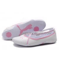 格安特別 Womens Puma 5 On Behalf Sandals White Pink