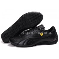 オンライン Womens Puma Drift Cat II Ferrari Black