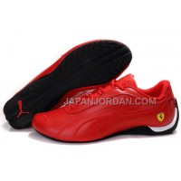 オンライン Womens Puma Drift Cat II Ferrari Red Black