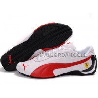 オンライン Womens Puma Drift Cat II Ferrari White Red