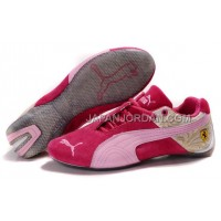 オンライン Womens Puma Ferrari 102 Red Pink Gray