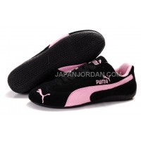 オンライン Womens Puma Fur 889 Black Purple