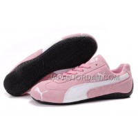 Womens Puma Fur 889 Pink White Black 送料無料