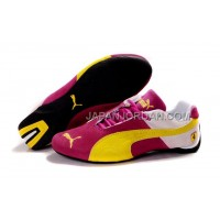 Womens Puma Fur I Red Yellow White 送料無料