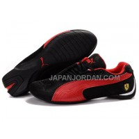 Womens Puma Future Cat 105 Black Red 送料無料