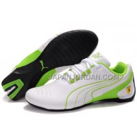 格安特別 Womens Puma Repli Cat III White Green