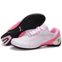 格安特別 Womens Puma Repli Cat III White Pink
