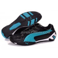Womens Puma Tour Cat Lo L Black Blue White 割引販売