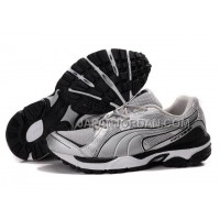 Womens Puma Vectana Running Gray Black 割引販売