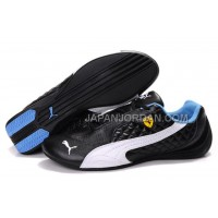 Womens Puma Wheelspin Black White Blue 割引販売