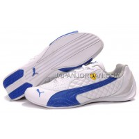 Womens Puma Wheelspin White Blue 割引販売