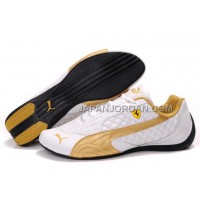 格安特別 Womens Puma Wheelspin White Gold