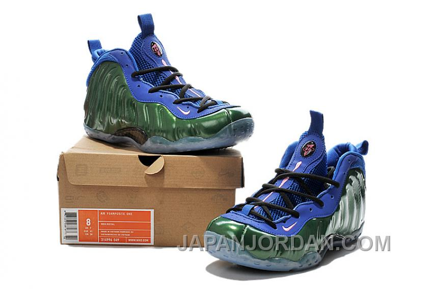 494ea3e6b37 Nike Air Foamposite One Green Blue For Sale Cheap To Buy
