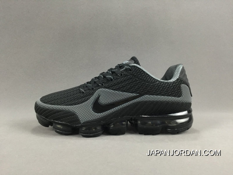 NIKE AIR VAPORMAX FLYKNIT 2018 Black Grey Cheap To Buy 9a43c09ce