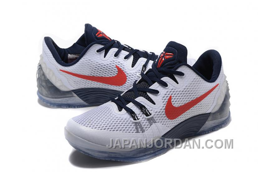 separation shoes 8941a 4c4fd NIKE KOBE VENOMENON 5 Independence Day White Black Red ...