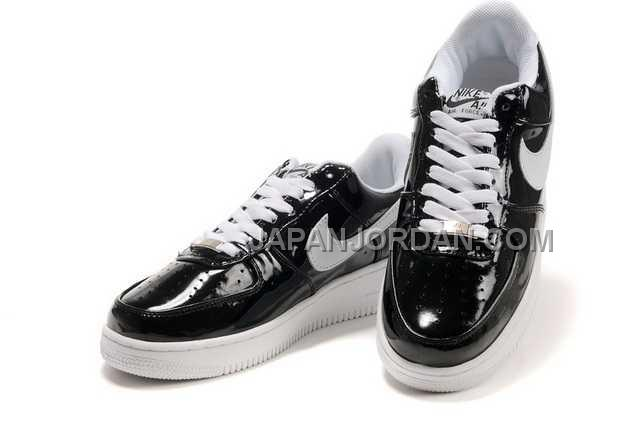 Nike Air Force 1 Low Mens Black White 割引販売