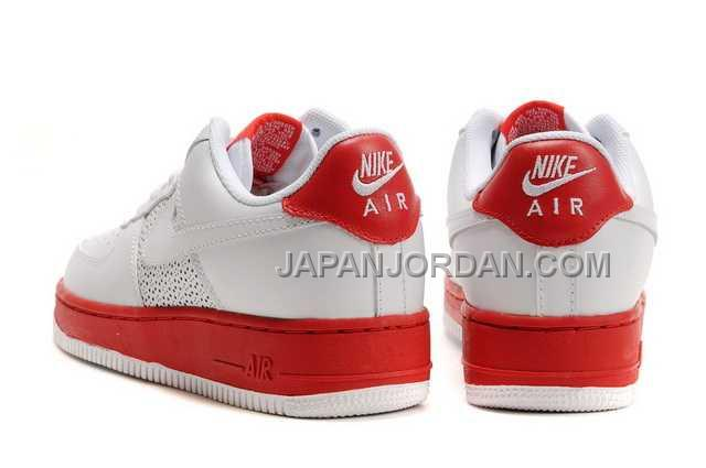 Nike Air Force 1 Low Mens White Red 送料無料