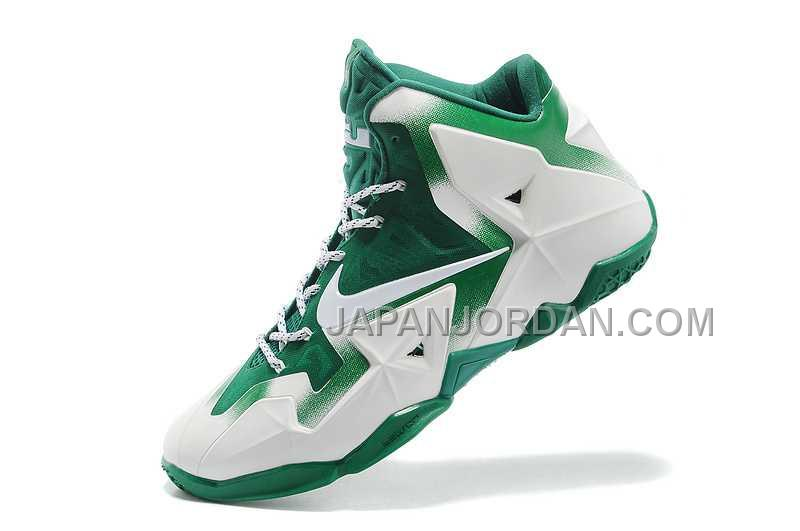 Nike Lebron Xi Mens White Green オンライン