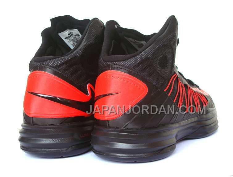 新着 Nike Lunar Hyperdunk X Mens Black Red