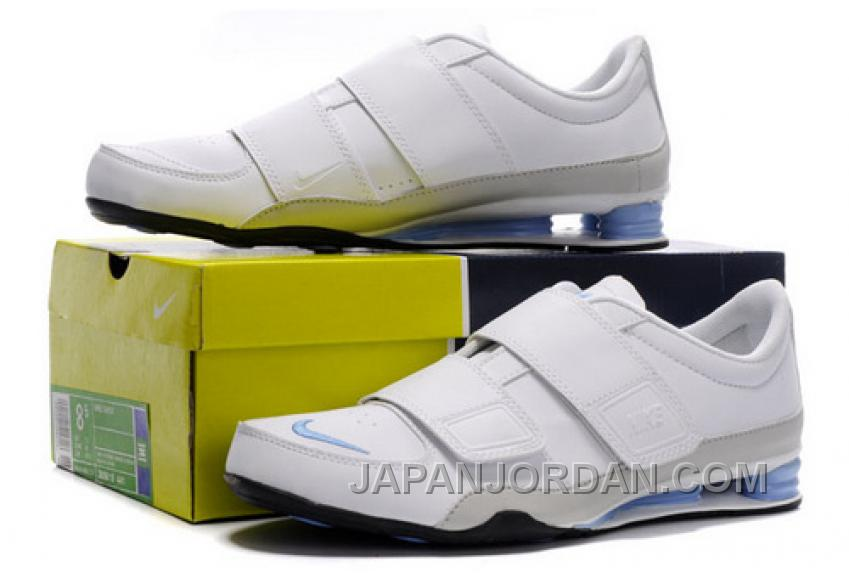 détaillant en ligne fb011 f79bd Women's Nike Shox R3 Shoes White/Grey/Light Blue For Sale ...