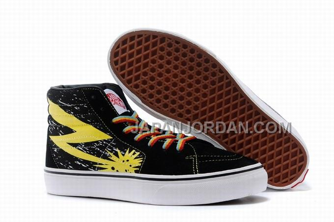 Vans SK8-Hi Thor II Black Yellow Mens Shoes ホット販売