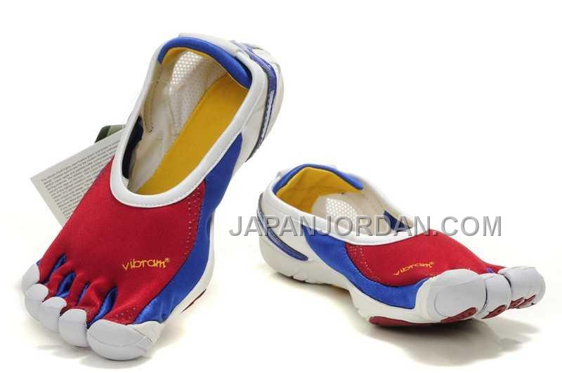 Vibram Jaya Blue Red 5 Five Fingers Sneakers For Womens 新着